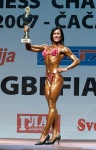European Women´s Championships of Bodybuilding, Fitness & Body-Fitness and Men´s Fitness, Overall and Awarding, Serbia 2007