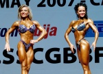 European Women´s Championships of Bodybuilding, Fitness & Body-Fitness and Men´s Fitness, Serbia 2007